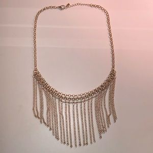 $8 or 2/$12 Gold Statement Necklace